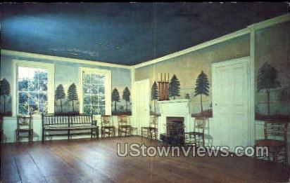 Masonic Meeting Room - Old Sturbridge Village, Massachusetts MA Postcard