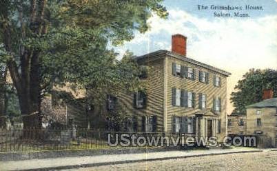 Grimshawe - Salem, Massachusetts MA Postcard