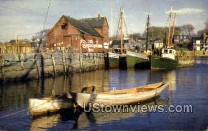 Rockport, Mass     ;     Rockport, Massachusetts Postcard
