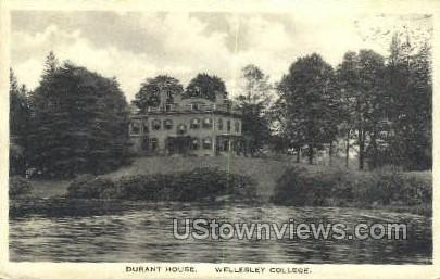 Durant House, Wellesley College - Massachusetts MA Postcard
