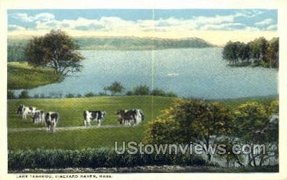 Lake Tashmoo - Vineyard Haven, Massachusetts MA Postcard