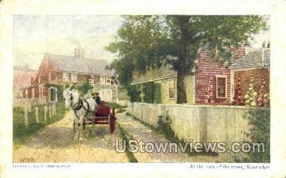 Nantucket, MA,     ;     Nantucket, Massachusetts Postcard
