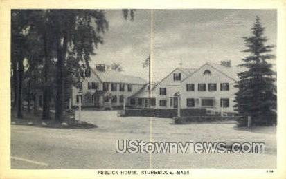 Public House - Sturbridge, Massachusetts MA Postcard