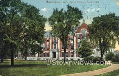 Smith College, Seelye Hall - Northampton, Massachusetts MA Postcard