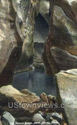 Natural Bridge - North Adams, Massachusetts MA Postcard