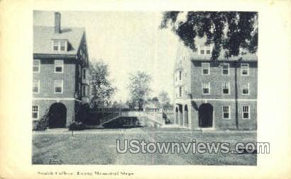 Smith College, Ewing Memorial Step - Misc, Massachusetts MA Postcard
