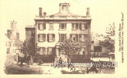Jared Coffin House, 1865 - Misc, Massachusetts MA Postcard
