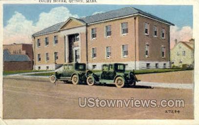 Court House - Quincy, Massachusetts MA Postcard