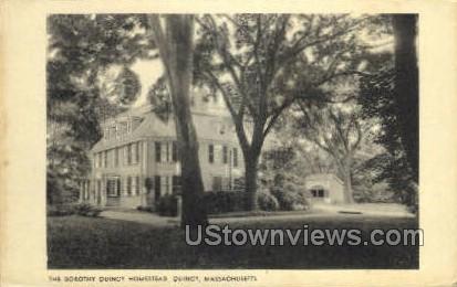 The Dorothy Quincy Homestead - Massachusetts MA Postcard