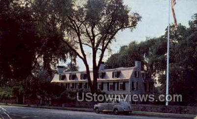Adams National Historic Site - Quincy, Massachusetts MA Postcard