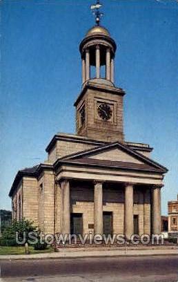Church of the Presidents - Quincy, Massachusetts MA Postcard
