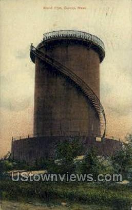 Stand Pipe - Quincy, Massachusetts MA Postcard
