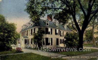 Dorothy Quincy House - Massachusetts MA Postcard
