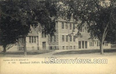 Woodward Seminary - Quincy, Massachusetts MA Postcard