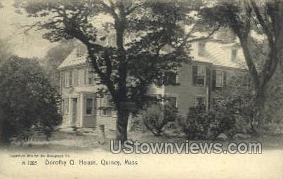 Dorothy Q. House - Quincy, Massachusetts MA Postcard
