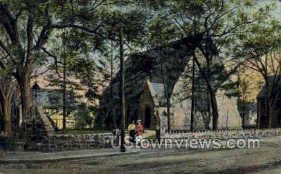 Christ Church - Quincy, Massachusetts MA Postcard