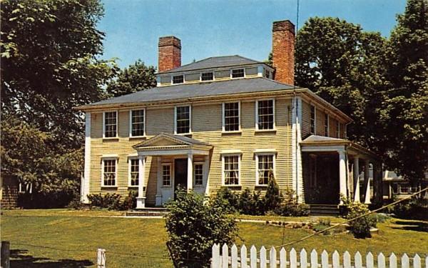 Col. Josiah Quincy House Massachusetts Postcard