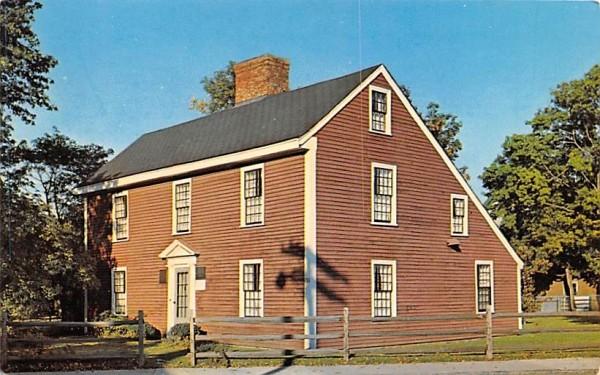 Birthplace of John Adams Quincy, Massachusetts Postcard