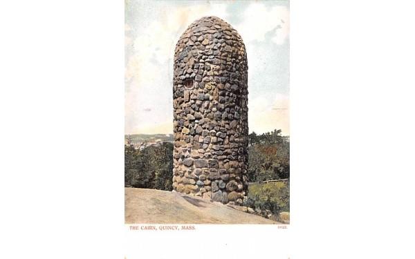 The Cairn Quincy, Massachusetts Postcard
