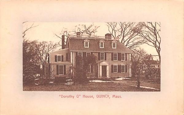 Dorothy Q House Quincy, Massachusetts Postcard