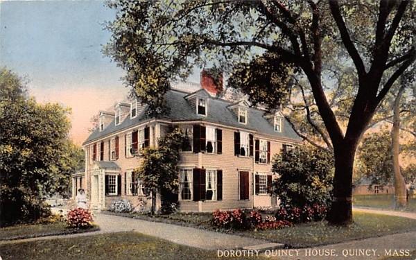 Dorothy Quincy House Massachusetts Postcard