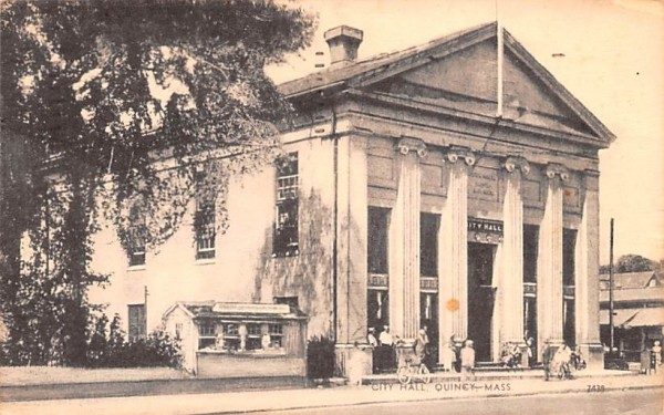 City Hall Quincy, Massachusetts Postcard