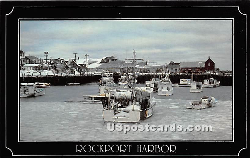 Fishing Fleet - Rockport, Massachusetts MA Postcard