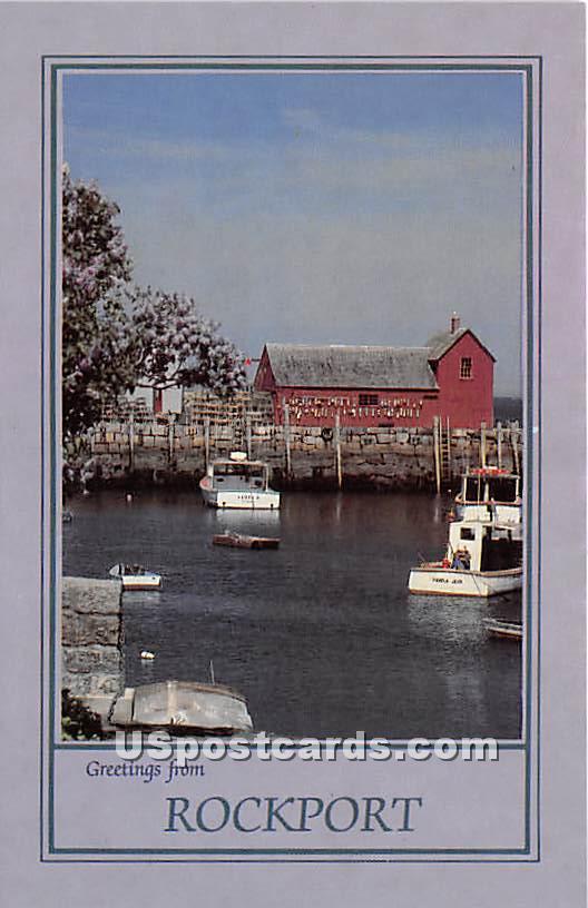Motif Number One - Rockport, Massachusetts MA Postcard
