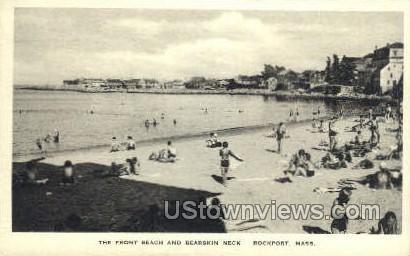 Front Beach, Bearskin Neck - Rockport, Massachusetts MA Postcard