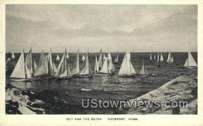 Out for the Races - Rockport, Massachusetts MA Postcard