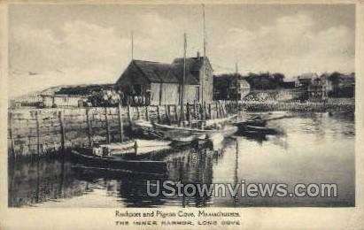 Inner Harbor - Rockport, Massachusetts MA Postcard