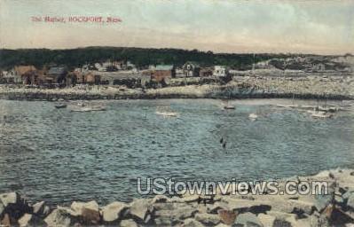 Harbor - Rockport, Massachusetts MA Postcard