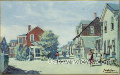 Bearskin Neck - Rockport, Massachusetts MA Postcard