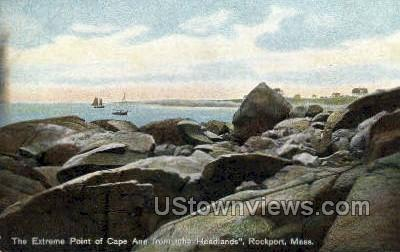 Cape Ann - Rockport, Massachusetts MA Postcard