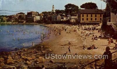 Front Beach - Rockport, Massachusetts MA Postcard