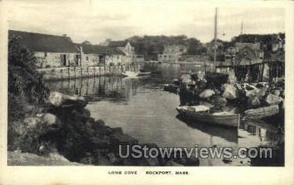 Long Cove - Rockport, Massachusetts MA Postcard