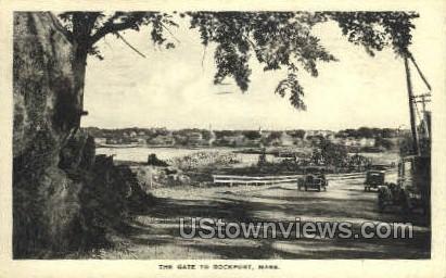 The Gate - Rockport, Massachusetts MA Postcard