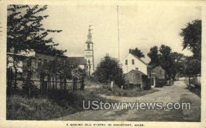 Old St. - Rockport, Massachusetts MA Postcard