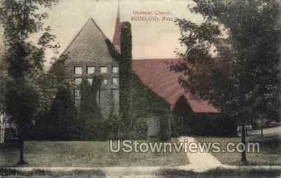 Unitarian Church - Rockport, Massachusetts MA Postcard