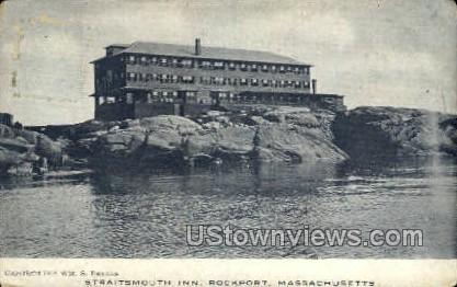 Staitsmouth Inn - Rockport, Massachusetts MA Postcard