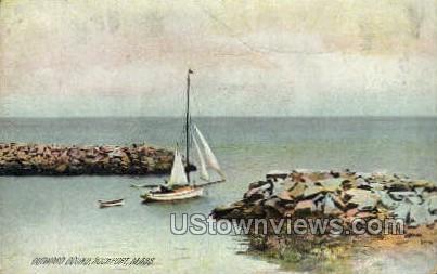 Outward Bound - Rockport, Massachusetts MA Postcard