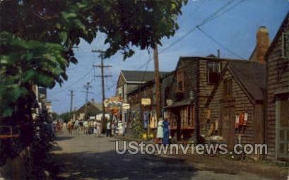 Entrance, Bearskin Neck - Rockport, Massachusetts MA Postcard
