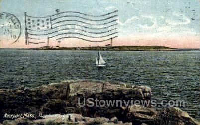 Thatchers Light - Rockport, Massachusetts MA Postcard