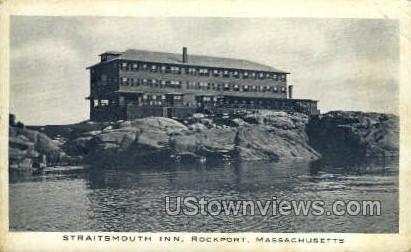 Straitsmouth Inn - Rockport, Massachusetts MA Postcard