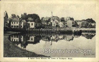 Cove - Rockport, Massachusetts MA Postcard