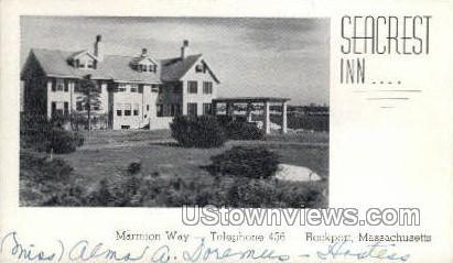 Seacrest Inn - Rockport, Massachusetts MA Postcard