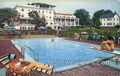 Pool, The Ralph Waldo Emerson - Rockport, Massachusetts MA Postcard