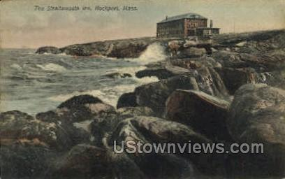 The Straitsmouth Inn - Rockport, Massachusetts MA Postcard