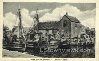 Motif No. 1 - Rockport, Massachusetts MA Postcard