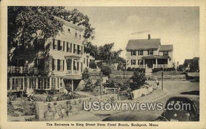 King St. - Rockport, Massachusetts MA Postcard